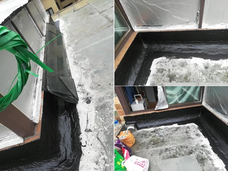 重庆北碚防水补漏施工后